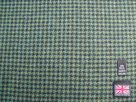 100% Wool Dogtooth Check Fabric BZ23